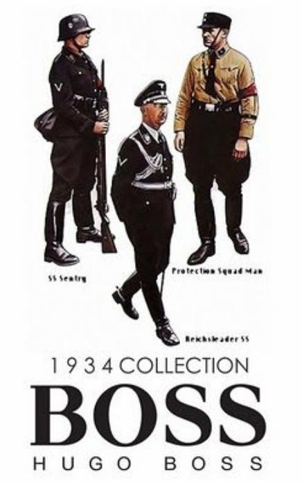 Hugo Boss的历史故事,来自纳粹的时尚